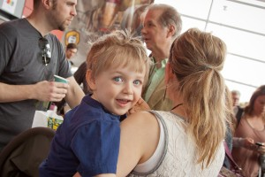 Future Coffee Drinker?Families are always welcome at CoffeeCon.