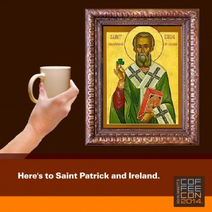 Happy St. Patrick's Day from CoffeeCon 2014