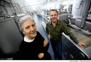 Lifelong chocolatier Lous Roeetto and Nasa contractor Timothy Childs, Tchou's founders and obsessive co-dependents. .