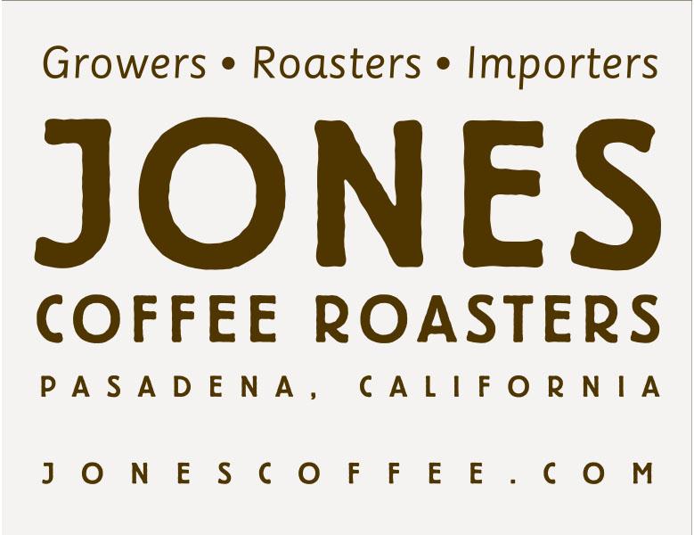 JONES COFFEE LOGO card Exhibitors
