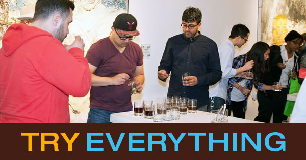 What Does Wine Tasting Have To Do With CoffeeCon?