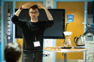 Oren's Adam Saucy made sure the Chemex was mastered in his class. Cafe Grumpy did their own verison of this class teaching their techniques.