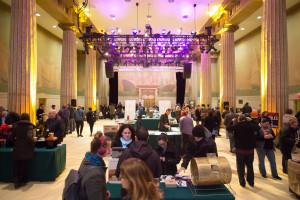 CoffeeCon Exhibit Hall 1 NYC