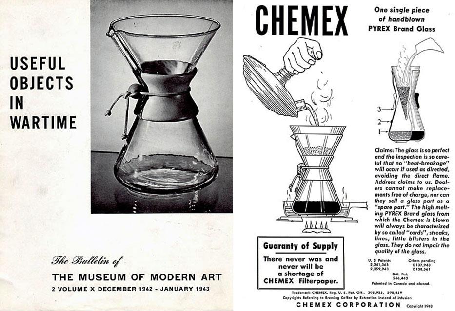 Manual Drip Coffee Maker Chemex : Chemex Pop-Up Museum at CoffeeCon NY - Coffee-Con