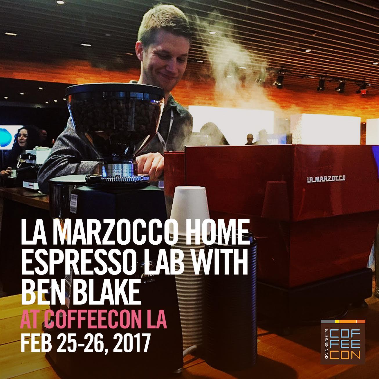 La Marzocco Home Espresso Lab with Ben Blake