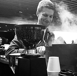 Ben Blake at CoffeeCon Los Angeles 2017