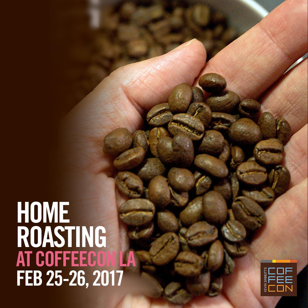 Home Roasting Coffee at CoffeeConLA