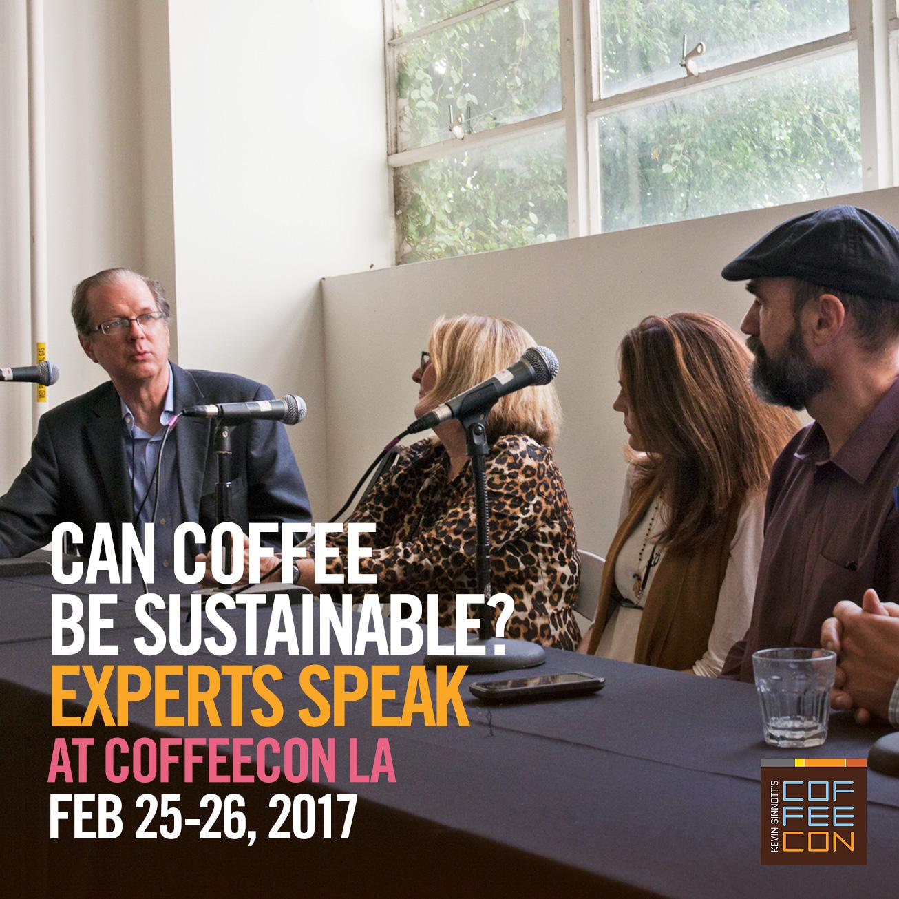 Coffee Sustainability at CoffeeConLA