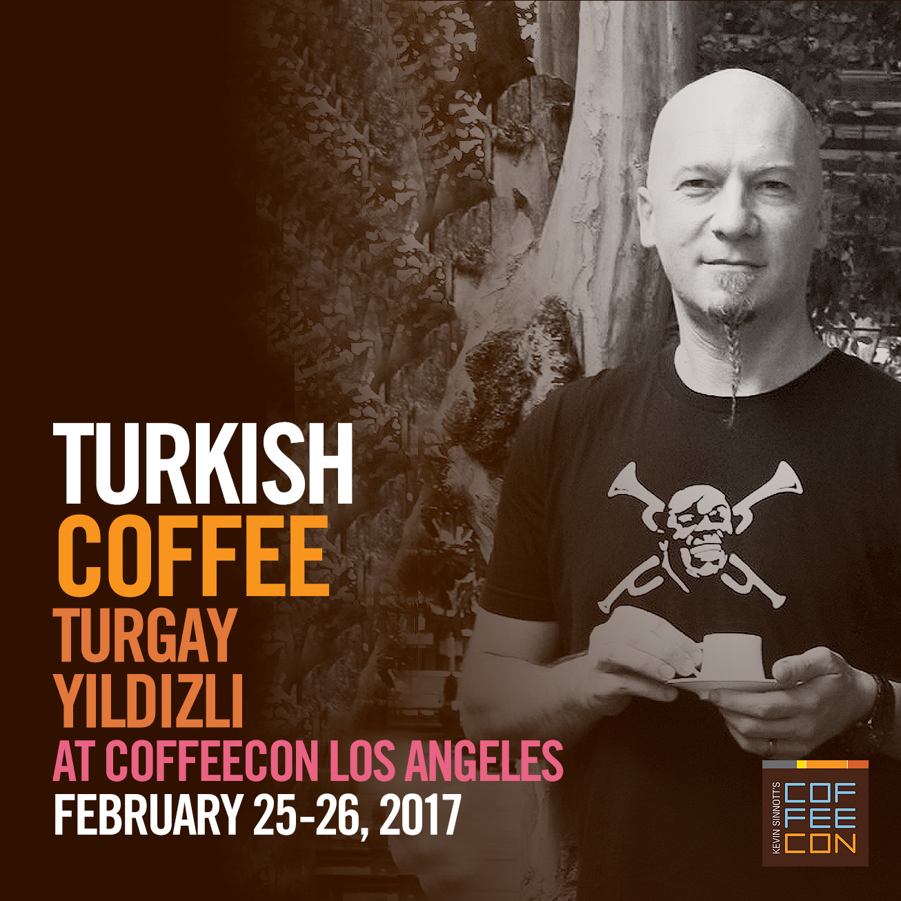 Turkish Coffee Made Specialty with Turgay Yildizli - Turkish Coffee Champion at CoffeeConLA 2017