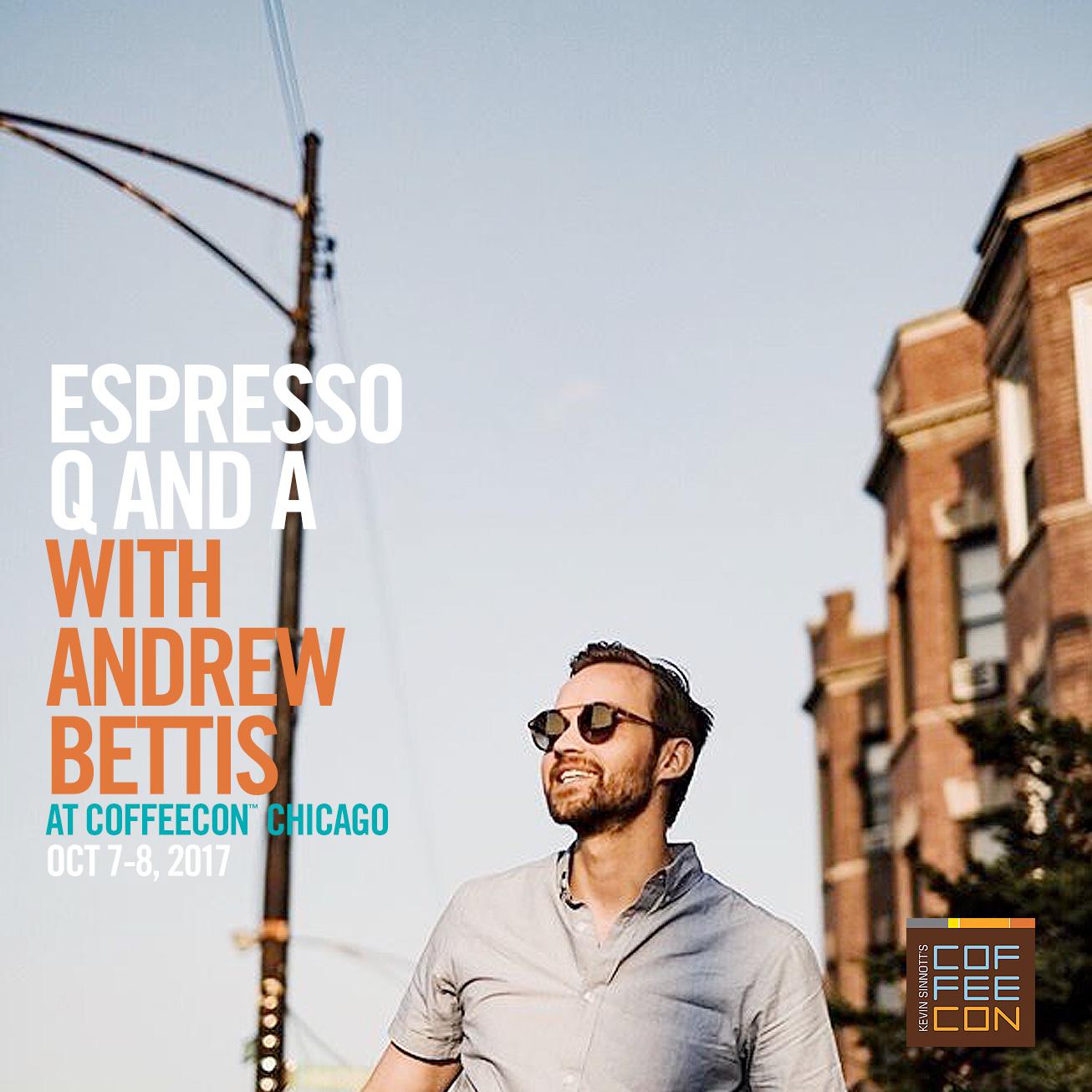 Espresso Q & A at CoffeeCon Chicago 2017
