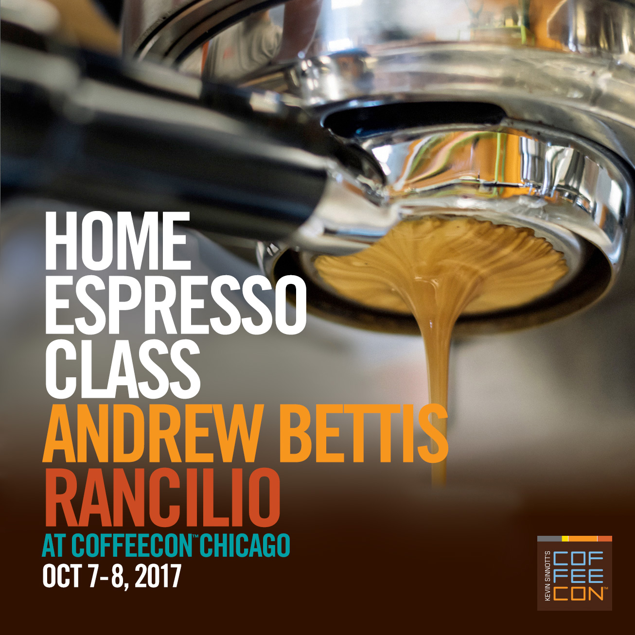 Home Espresso with Andrew Bettis at CoffeeConChicago 2017