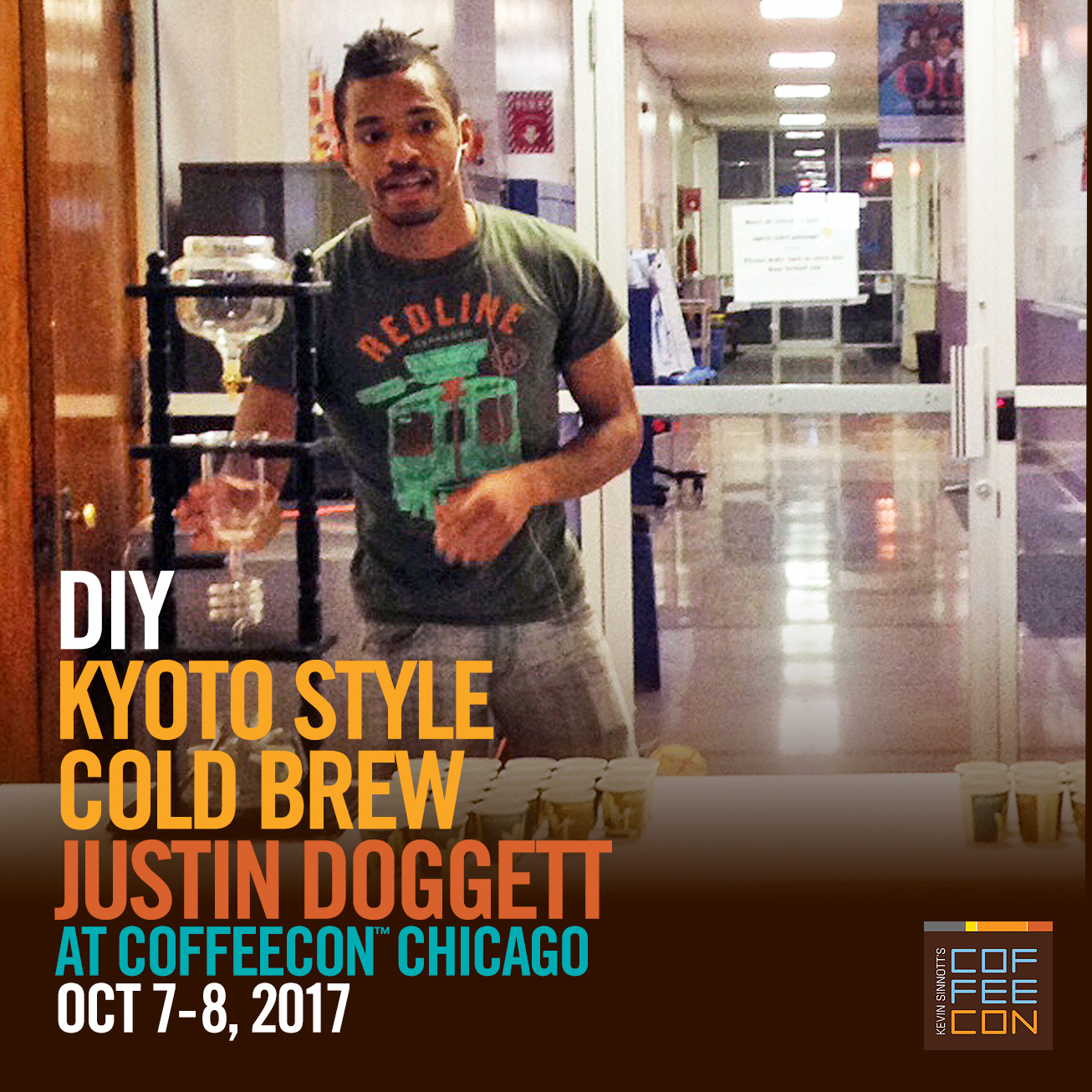DYI Kyoto Style Cold Brew with Justin Doggett at CoffeeConChicago 2017