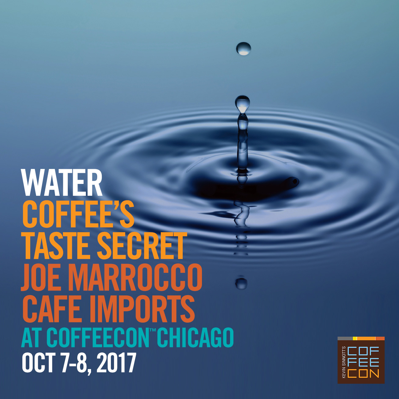 Water Coffee's Taste Secret with Joe Marrocco at CoffeeConChicago 2017