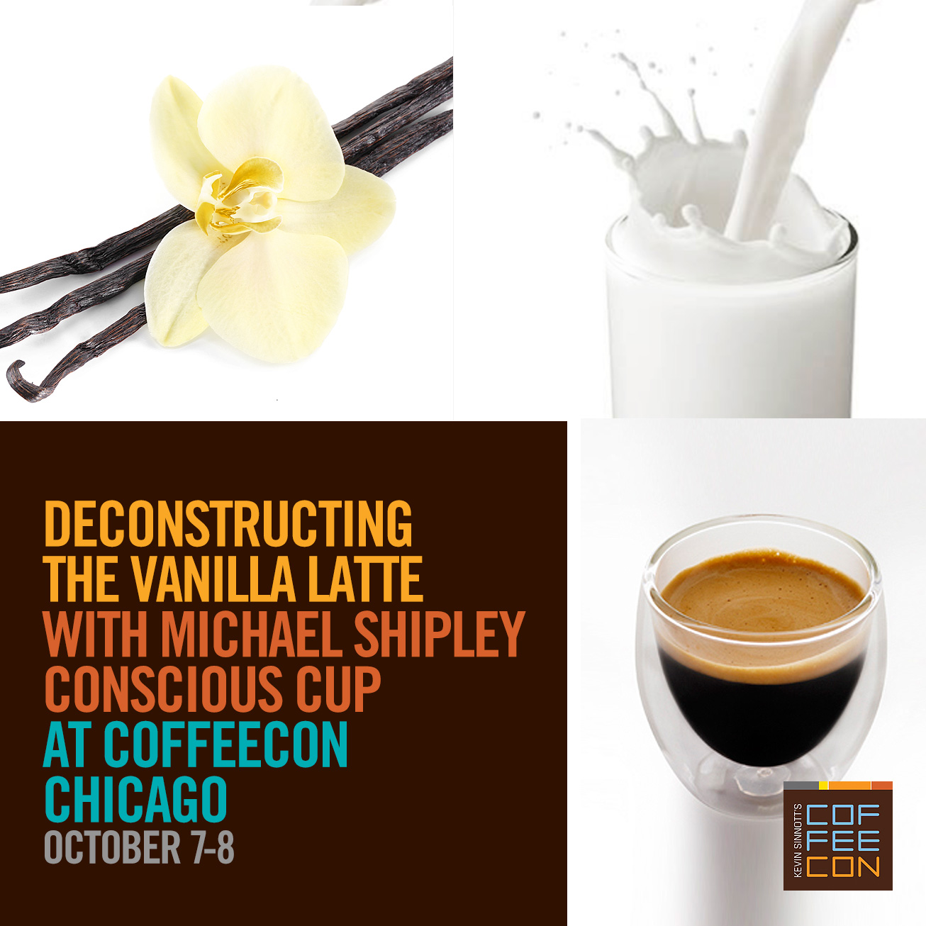 Deconstructing The Vanilla Latte at CoffeeCon Chicago 2017