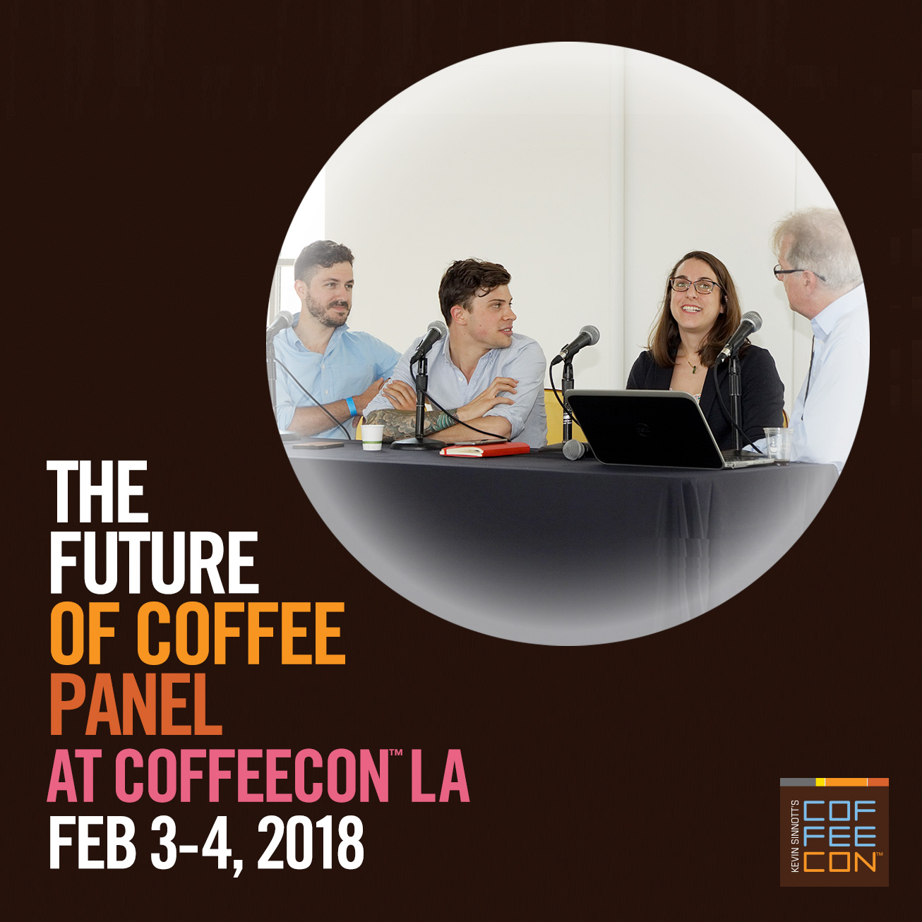 The Future of Coffee Panel at CoffeeConLA 2018