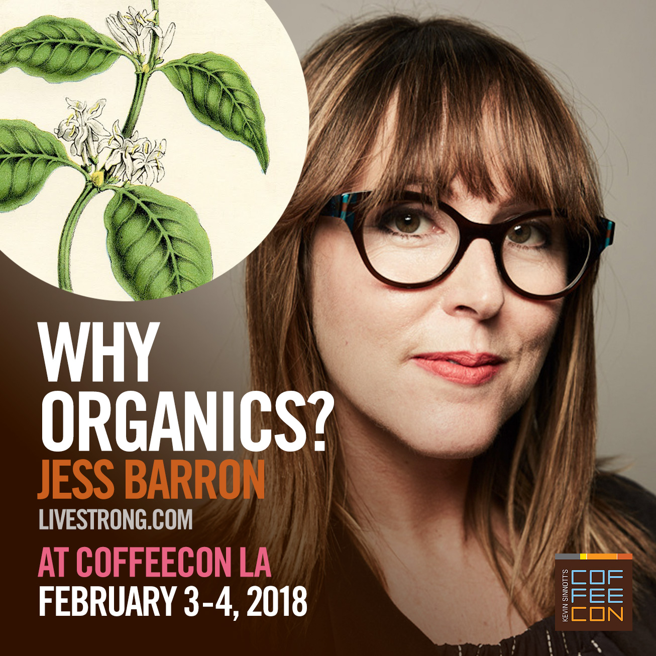 Why Organics with Jess Barron of Livestrong.com