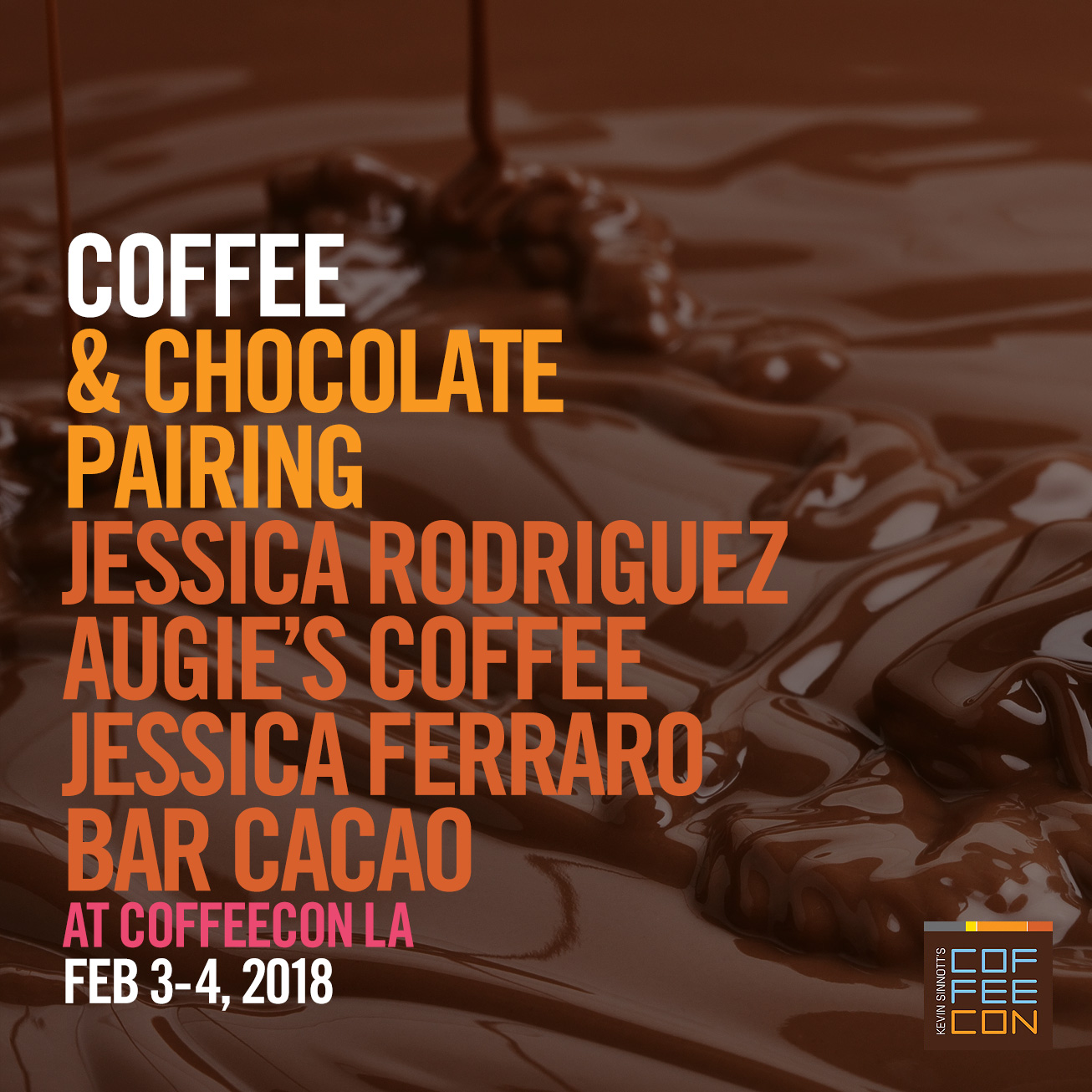 Coffee and Chocolate Pairing at CoffeeConLA 2018