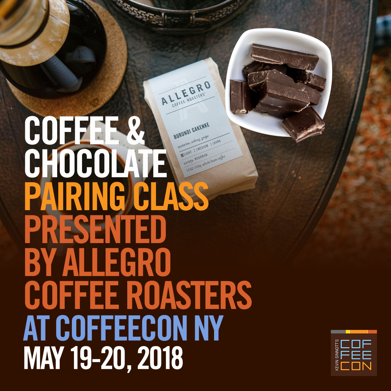 Coffee and Chocolate Pairing At CoffeeConNY