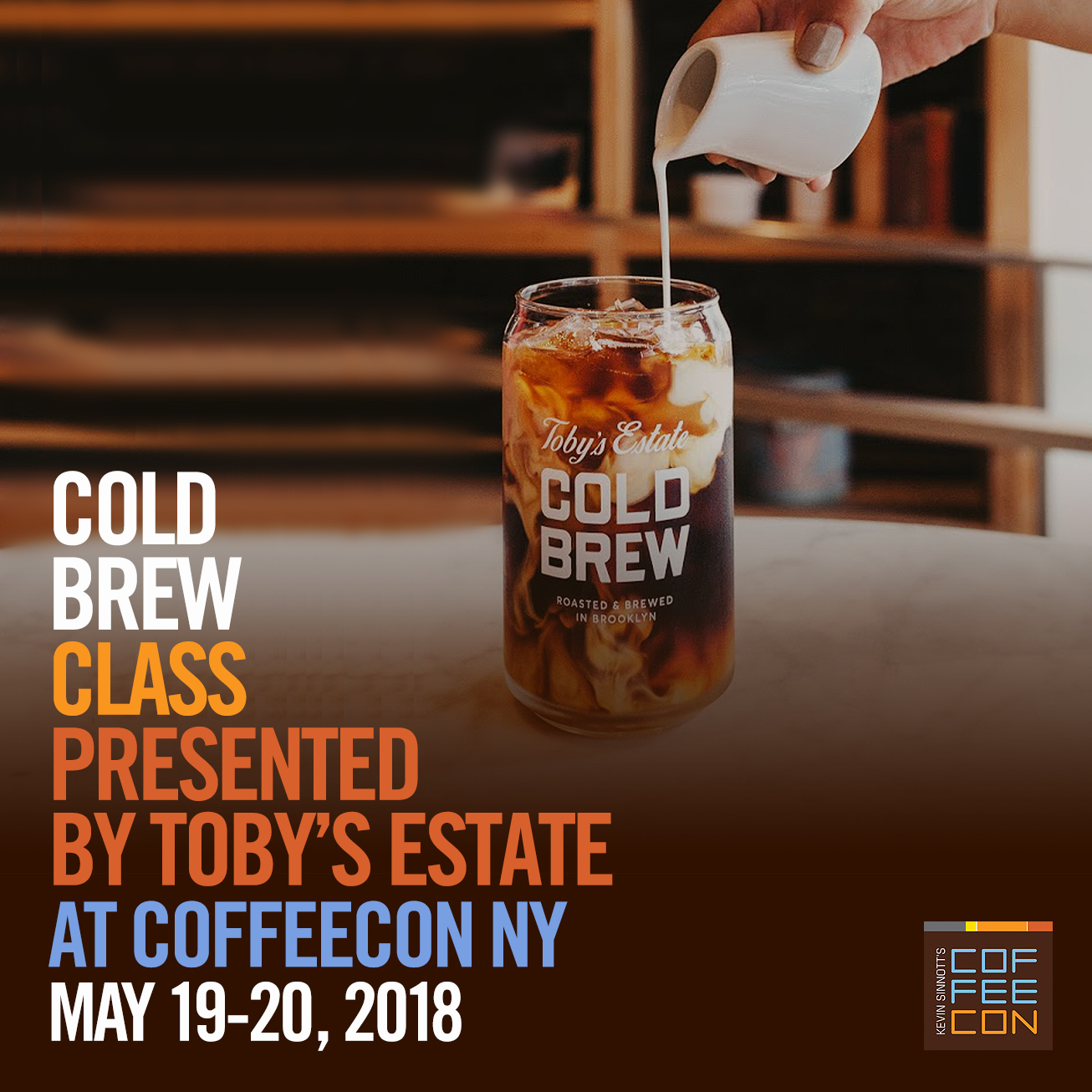 Cold Brew Class with Toby's Estate at CoffeeConNY
