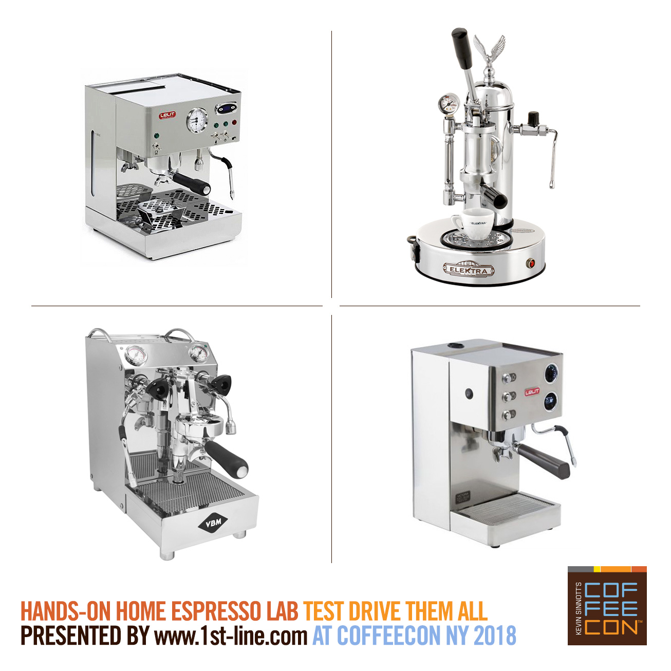 Hands-On Home Espresso Lab at CoffeeConNY