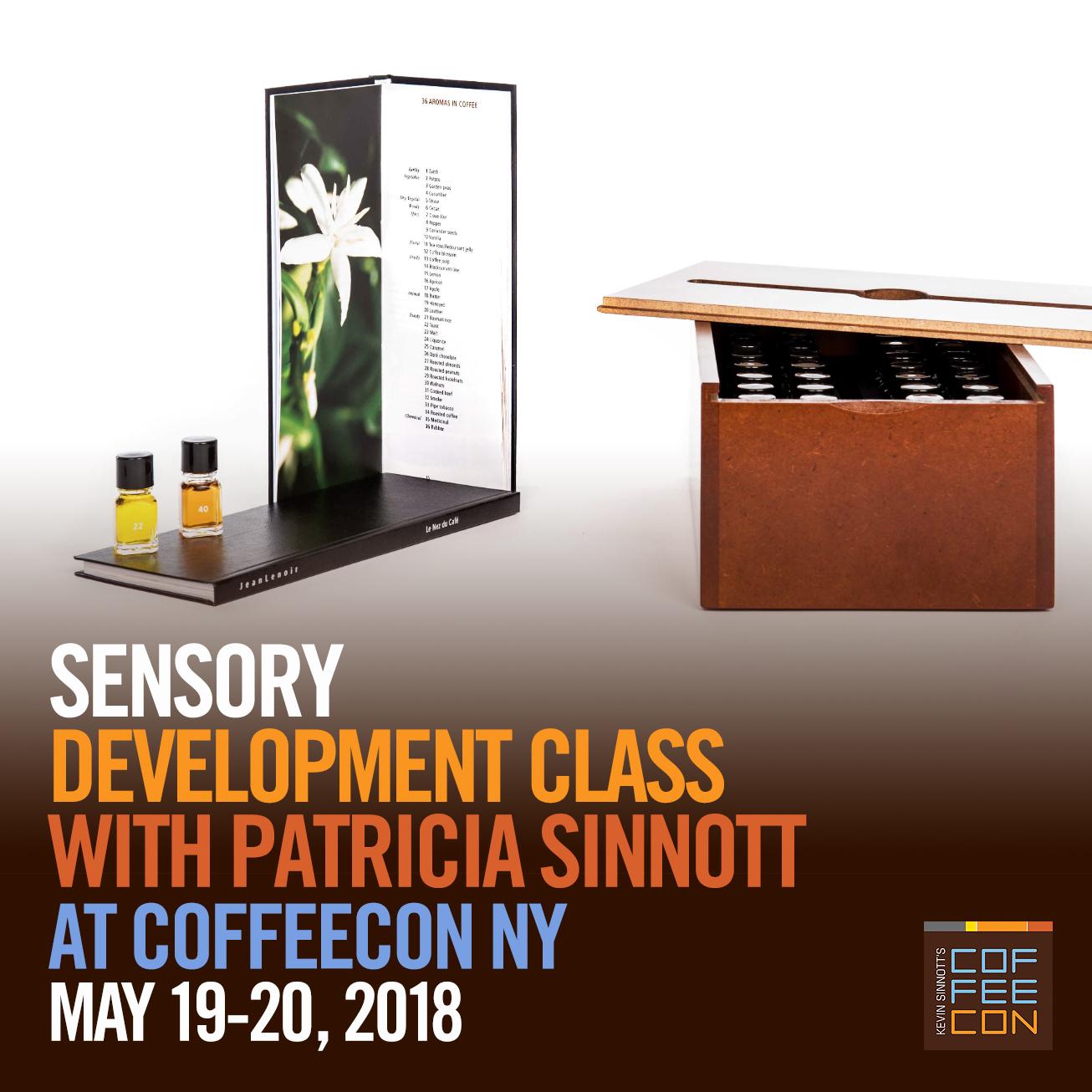 Sensory Development Class at CoffeeConNY