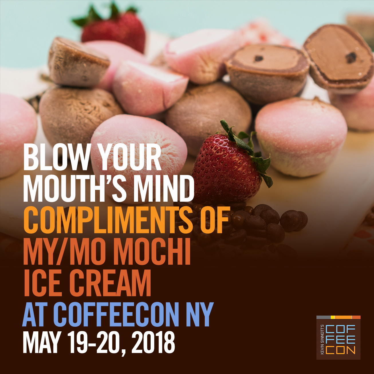 My/Mo Mochi Ice Cream at CoffeeConNY